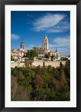 Framed View from the Alcazar, Segovia, Spain Print