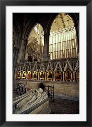 Framed Winchester Cathedral, Hampshire, England Print