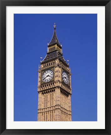 Framed Big Ben, London, England Print
