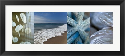Framed Sea And Me Print
