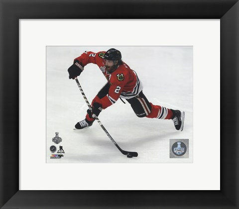 Framed Duncan Keith Game 3 of the 2015 Stanley Cup Finals Print