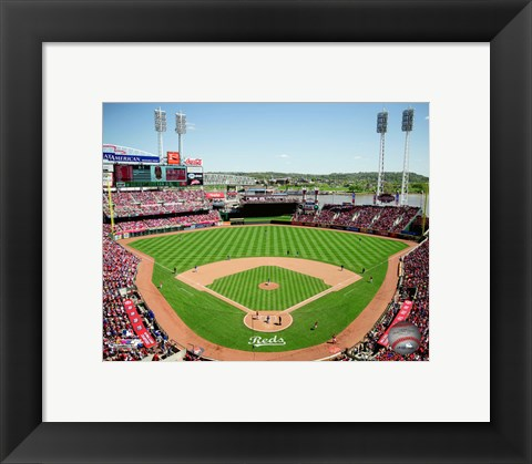 Framed Great American Ball Park 2015 Print