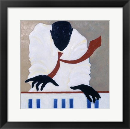 Framed Untitled (Piano Player) Print