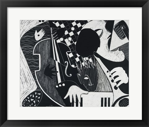 Framed Blue Note Print