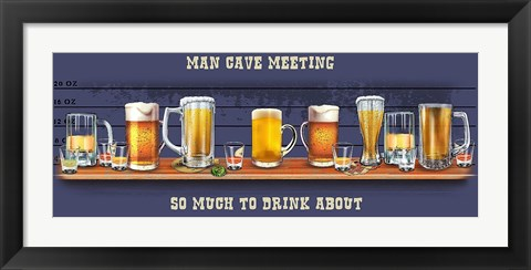 Framed Drink Print