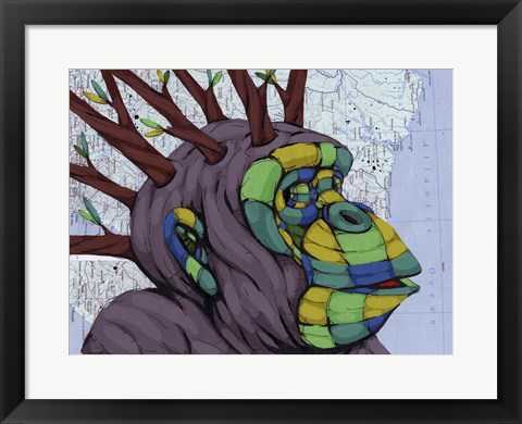 Framed New Thoughts Branching Out Print