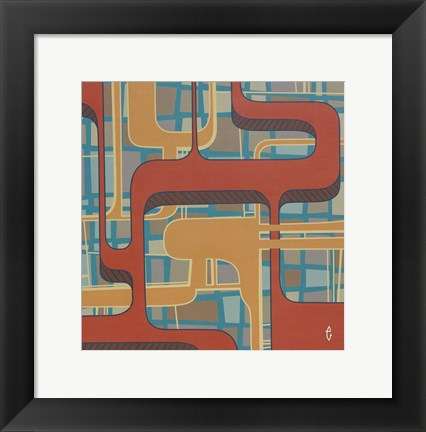 Framed Abstract 15 Print