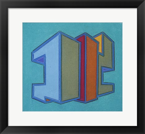 Framed Project Third Dimension 13 Print