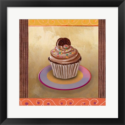Framed Chocolate Delight Print