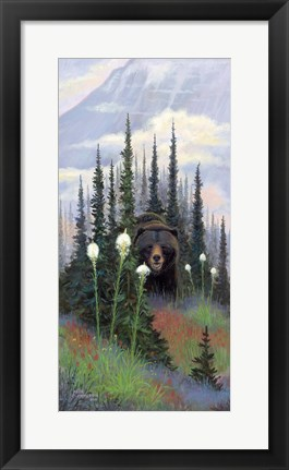Framed Bear Grass Print