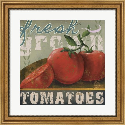 Framed Farm Fresh II Print