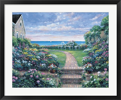 Framed Coastal Fragrance Print