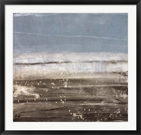 Framed Danish Sea II Print