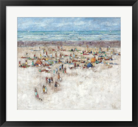 Framed Beach 2 Print