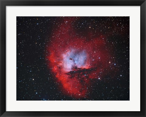 Framed NGC 281, the Pacman Nebula II Print