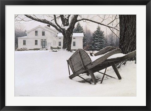 Framed Inn At Brandywine Print
