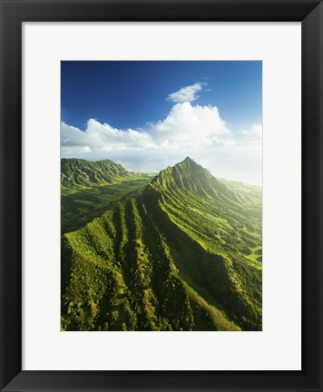 Framed Kualoa Valley Print