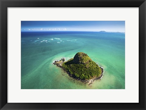 Framed Chinaman's Hat Print