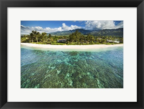 Framed North Shore Reef Print