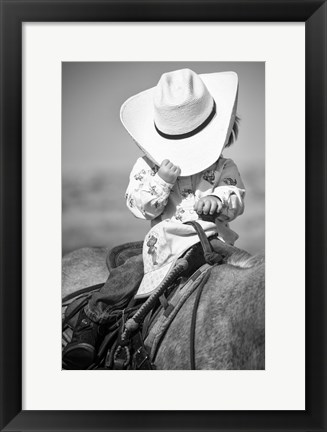 Framed True Cowgirl Print