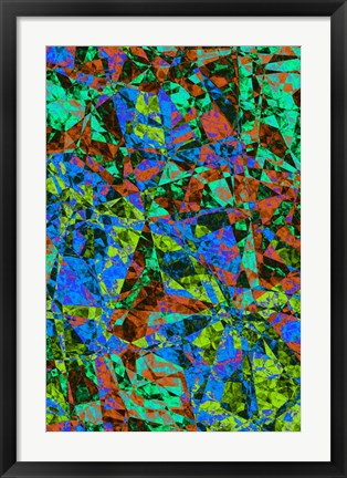 Framed Abstract 5 Print