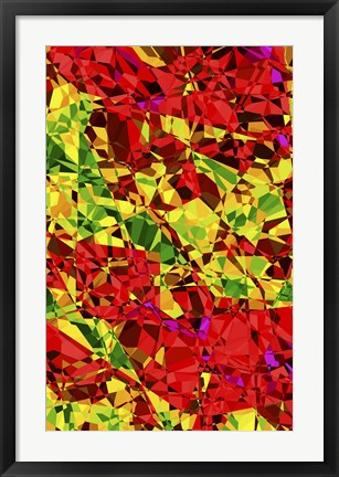 Framed Abstract 3 Print