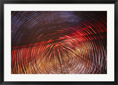 Framed Wind Tunnel Print