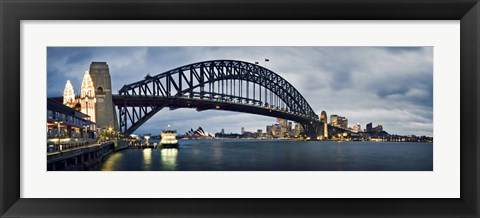 Framed Sydney Harbour Print