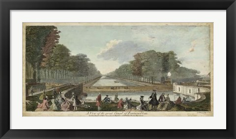 Framed View of Fontainebleau I Print