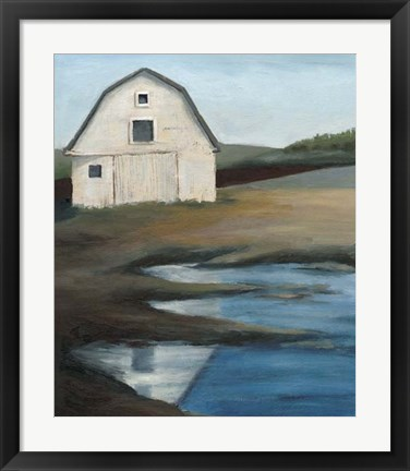 Framed Farmstead I Print