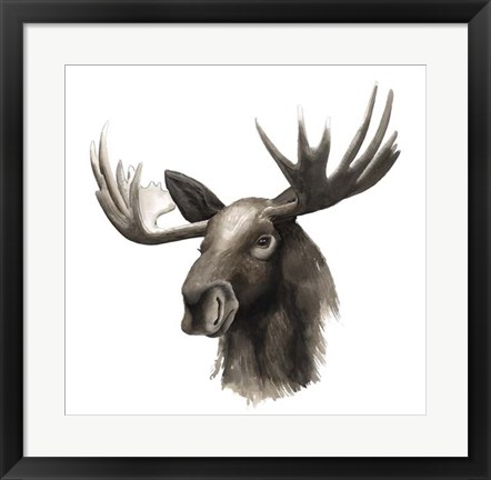 Framed Western Animal Study III Print