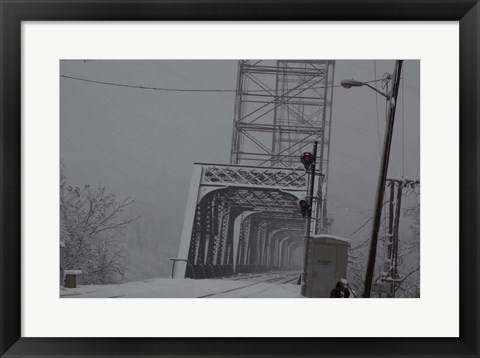 Framed Livingston Avenue Bridge 1 Print