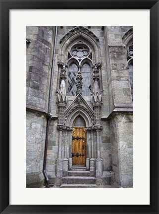 Framed Church Door Print