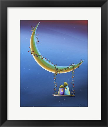 Framed Another Moonlight Serenade Print