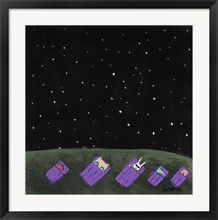 Framed Under the Stars Print