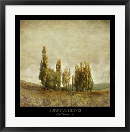 Framed Autumnal Feelings Print