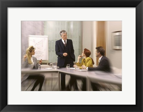 Framed Corporate Meeting Print