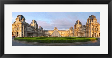 Framed Musee du Louvre, Paris, France I Print