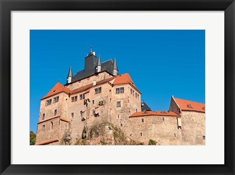 Framed Kriebstein Castle, Germany Print