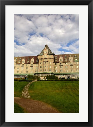 Framed Fairmont Le Manoir Richelieu Print