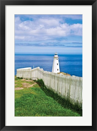 Framed Cape Spear Lighthouse Print