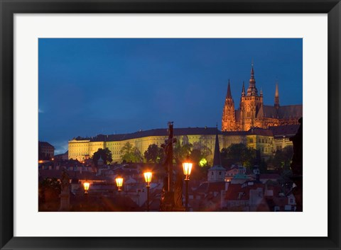 Framed St Vitus Cathedral Print