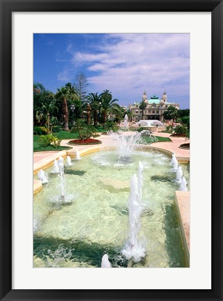 Framed Casino at Monte Carlo Print