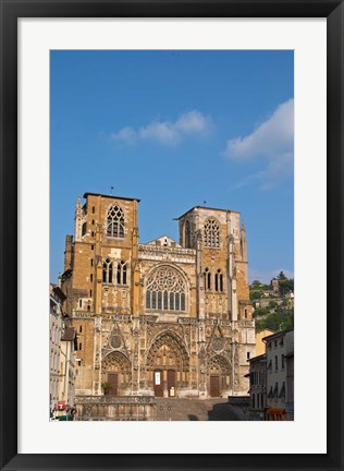 Framed Saint Maurice Cathedral Print
