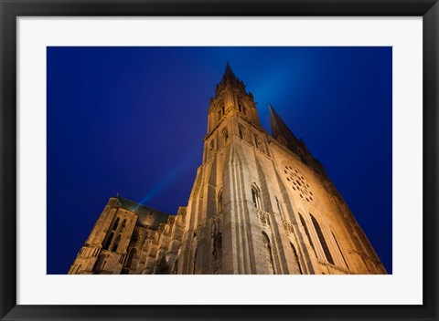 Framed Chartres Cathedral, Chartres, France Print