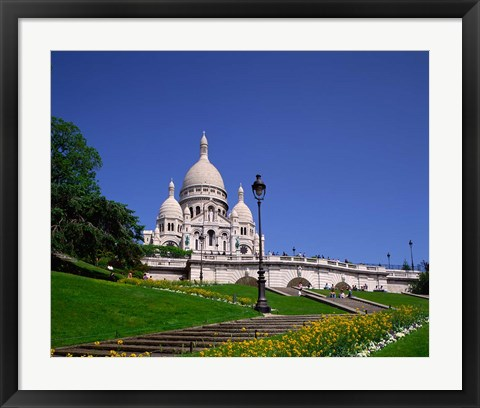Framed Sacre Coeur, Montmartre, Paris, France Print