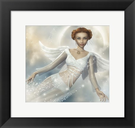 Framed Angelic Print