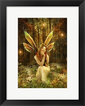 Framed Fairies Vale Print