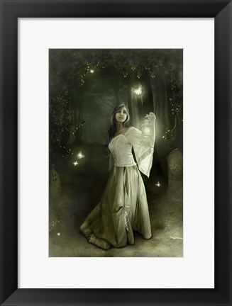 Framed Light The Way Print