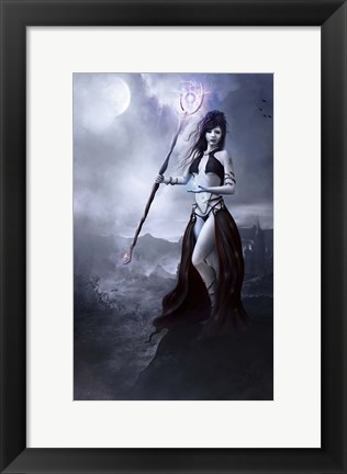 Framed Sorceress Print